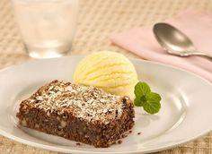 Brownie de aveia