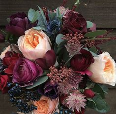 winter wedding floral arrangements wedding flowers - Page 85 of 101 - Wedding Flowers & Bouquet Ideas Mauve Wedding, Fall Wedding Flowers, Winter Flowers, Fall Wedding Colors, Floral Wedding, Summer Wedding, Trendy Wedding, Garden Wedding, Boquette Wedding