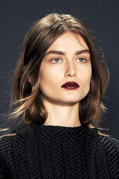 oxblood lip #makeup #lipstick
