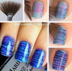 Beauty Tip: DIY Nails Art / DIY nails art design - Fereckels