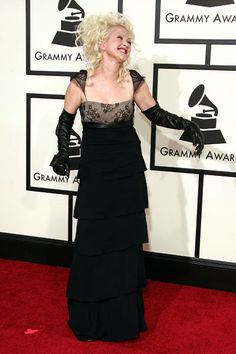 Cyndi Lauper at the Grammys 2008