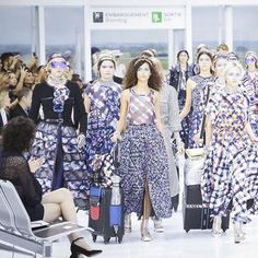Fashion runway| Chanel Spring-Summer 2016 RTW | http://www.theglampepper.com/2015/10/09/fashion-runway-chanel-spring-summer-2016-rtw/