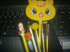 ๑๑Mellow Yellow Kawaii Pens๑๑
