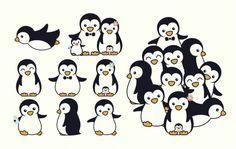 Cartoon illustration of penguins on ivory background royalty free cartoon illustration of penguins on ivory background stockvectorkunst en meer beelden van abstract Pinguin Drawing, Pinguin Tattoo, Penguin Life, Penguin Art, Penguin Cartoon, Penguin Illustration, Doodle Tattoo, Free Cartoons, Cute Penguins