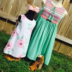 Just in time for Easter! This mommy and me look is filled with pastel perfection! #Easter #RibbonChix #spring