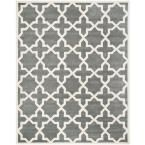 Chatham Dark Grey/Ivory 11 ft. x 15 ft. Area Rug, Dark Gray/Ivory