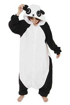 BELIFECOS Unisex Adult Pajamas Plush One Piece Cosplay Panda Animal Costume XLPanda *** ** AMAZON BEST BUY -affiliate link**