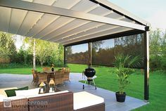 retractable waterproof awnings australia - Google Search