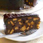 Prince William's Chocolate Biscuit Cake - fit for a Royal! This is like chocolate fudge with biscuits in it. YUM!
