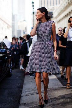 Giovanna Battaglia at New York Fashion Week Spring Summer 2014 #2014fashiontrends