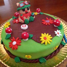 Birthday cake. League of Legends