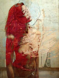 Hedge art hommes et femmes nus