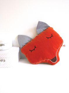 Fox cushion Laura Jane Paris