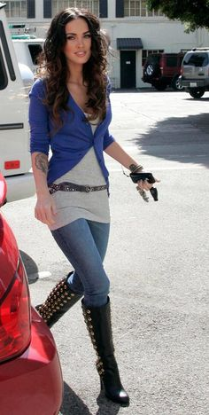 Megan On Pinterest Megan Fox Style Foxes And Street Styles