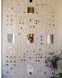 Image result for how to make kutch mud or plaster of paris work on wall