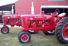 Farmall Super M tractors