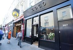 Coco Nail Bar London for the best mani pedis