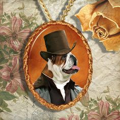 Items similar to English Bulldog Jewelry Pendant - Brooch Handcrafted Ceramic by Nobility Dogs on Etsy Dog Jewelry, English Style, Pendant Jewelry, Brooch, Ceramics, Christmas Ornaments, Pendants, Hats, Bulldogs