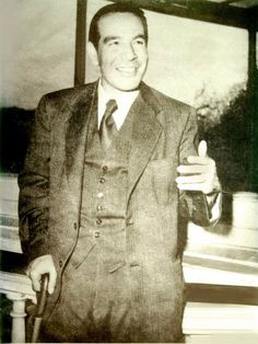 """Hossein Fatemi (10 February 1917 - 10 November 1954)was theforeignminister of Iran in the government of Prime MinisterMohammadMosaddegh, he proposed nationalization of Iranian oil and gas assets.    After the 1953 CIA-orchestrated coup d'état that toppled the democratically elected government of Mosaddegh, Fatemi was arrested, tortured, and convicted by a military court of """"treason against the Shah"""", and executed by a firing squad."""