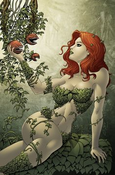 Poison Ivy Commission by SeanE on DeviantArt DeviantArt is the world's largest online social community for artists and art enthusiasts, allowing people to connect through the creation and sharing of art. Comic Art, Comic Kunst, Comic Books Art, Dc Poison Ivy, Poison Ivy Dc Comics, Poison Ivy Batman, Poison Ivy Comic, Heros Comics, Comics Girls