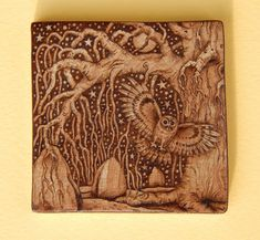 ENCHANTED-ART - Pyrography and Illustration: Pyro-Art Pieces