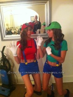 Cutest Last-Minute Mario and Luigi Costumes for Women ...This website is the Pinterest of costumes