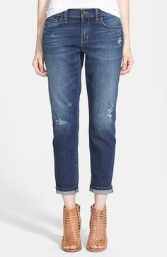 We've identified the 7 best jeans for women of ALL sizes. // Treasure & Bond Boyfriend Jeans (Medium Wash); $88