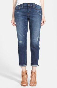 We've identified the 7 best jeans for women of ALL sizes. // Treasure & Bond Boyfriend Jeans (Medium Wash); $88
