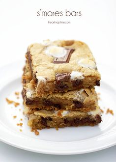 S'mores bars - I'll just add this to the million s'mores recipes I already have! Lol!