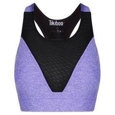 Purple Signature Mesh Bra #Activewear #Gymwear #FitnessLeggings #Leggings #Tikiboo #Running #Yoga Mesh Bra, Signature Collection, Workout Tops, Activewear, Athletic Tank Tops, Leggings, Yoga, Running, Purple