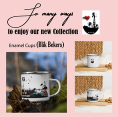 Enamel, Mugs, Tableware, Design, Products, Vitreous Enamel, Dinnerware, Tumblers, Tablewares