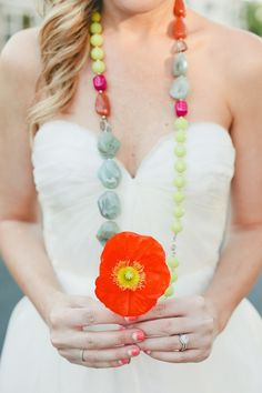 Color Blocked Wedding Inspiration from onelove Photography  Read more - http://www.stylemepretty.com/2013/07/03/color-blocked-wedding-inspiration-from-onelove-photography/