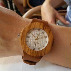 Drevené hodinky WESTERN Krabi, Wood Watch, Watches, Retro, Accessories, Wooden Clock, Wristwatches, Clocks, Retro Illustration