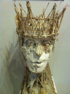 King Lear sculpture by Barron Storey