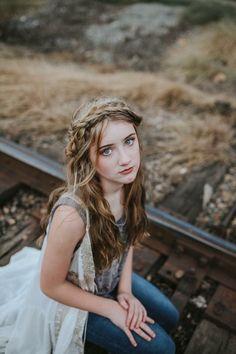Shalon Blackwell Photography  Tween model  Boho braids  Boho photoshoot
