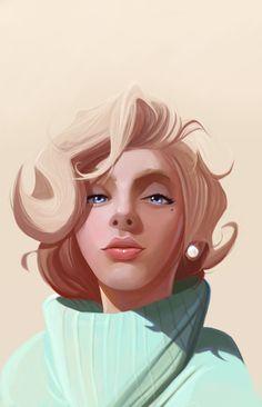 Scarlett Monroe Illustration #illustration