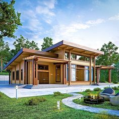 Laminated log house kit eco friendly wood prefab diy building cabin home glulam Home Building Kits, Building A House, Log Cabin Kits, Prefab Cabins, Log Cabins, Casas Containers, Container House Design, Container Homes, Dream House Exterior