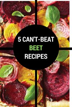Sweet, pretty and versatile, we're really feeling the beet right now. Here are five easy ways to beet it. Quick Pasta Recipes, Yummy Chicken Recipes, Yum Yum Chicken, Quick Easy Meals, Easy Dinner Recipes, Yummy Food, Beet Recipes, Soup Recipes, Healthy Breakfast Recipes