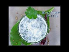 Butter Milk / Majjige/chaas - YouTube