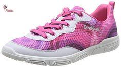 Desigual Sneaker Tendencia, Chaussures de fitness femme - Rose (3018 Rosa Vento), 37 EU