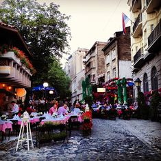 skadarlija, belgrade. Honestly one of my ALL TIME favourite places in the world ... #homesick