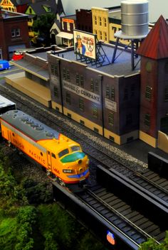 HO scale Model Railroad by Nate A, via 500px