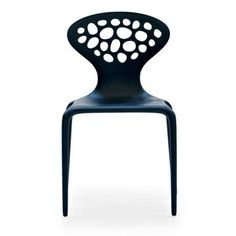 Supernatural Chair with perforated back by Ross Lovegrove for Moroso Led Furniture, Outside Furniture, Hardwood Furniture, Furniture Design, Moroso Furniture, Black Furniture, Outdoor Furniture, Contemporary Home Furniture, Contemporary Dining Chairs