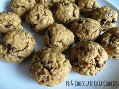 Peanut Butter and Chocolate Chia Seed Cookies   Tasty Kitchen: A Happy Recipe Community!