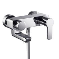 HSK Duschkabinenbau KG | Shower & Co. | Aufputz-Wannenfüll- und Brause-Einhebelmischer