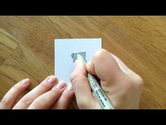 Zentangle® Muster: Swarm - YouTube