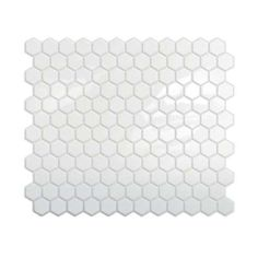 Tiles Hexago in. H Peel and Stick Self-Adhesive Decorative Mosaic Wall Tile Backsplash 10 in. x 10 in. Peel and Stick Hexagon Mosaic Backsplash in at The Home in. x 10 in. Peel and Stick Hexagon Mosaic Backsplash in at The Home Depot Decorative Wall Tiles, Mosaic Wall Tiles, Mosaic Backsplash, Backsplash Ideas, Hex Tile, Hexagon Tiles, Room Tiles, Tiling, Kitchen Backsplash Peel And Stick