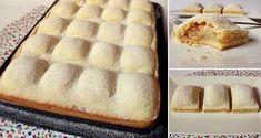 Jablkový koláč | Božské recepty Sweets, Cheese, Desserts, Recipes, Food, Basket, Peaches, Pears, Apples
