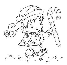 Sliekje digi Stamps ...make a cute freehand project for x-mas