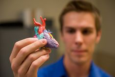 Using 3D printed heart models to prepare for heart surgery for babies